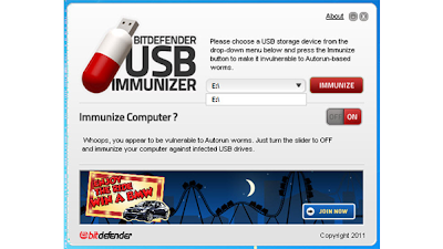 تحميل برنامج BitDefender USB Immunizer مجانا للتخلص والحماية من فيروسات الفلاشات