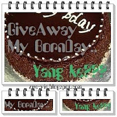 GiveAway - My BornDay