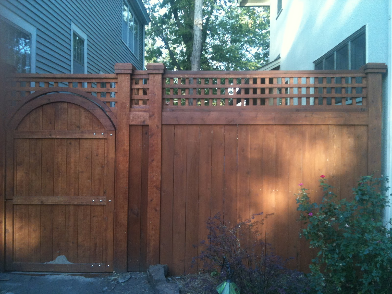 Craftsman style fence hack 1917 arts crafts home for Craftsman style fence
