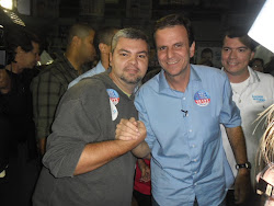 Eduardo Greco e o Prefeito Eduardo Paes