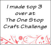 One Stop Craft Challenge Top 3