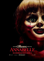 Annabelle 2014 movie poster malaysia