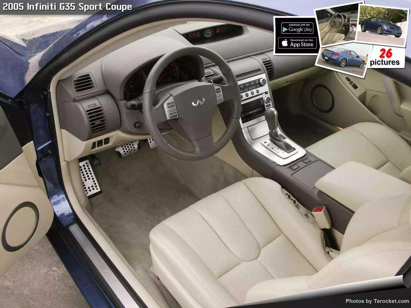 Hình ảnh xe ô tô Infiniti G35 Sport Coupe 2005 & nội ngoại thất