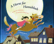 A Horse for Hanukkah             (New book in English and in German!)