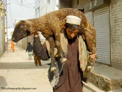 Funny Afghan man
