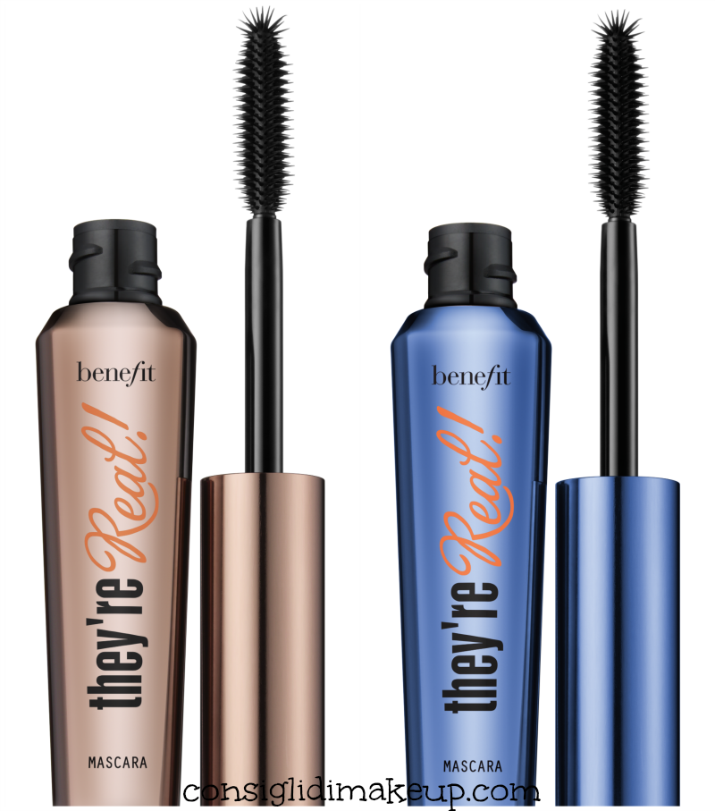 mascara they're real benefit marrone blu