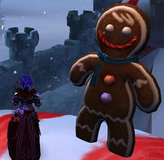 GW2 Guild Wars 2 Wintersday gingerbread man