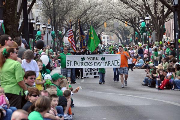 York Saint Patrick's Day Parade: Home