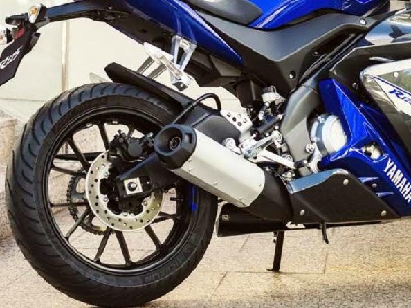 Detail Perubahan New Yamaha R125