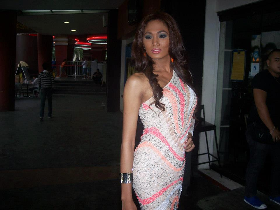 Transsexual Gay Miriam Jimenez Screening Binibining Pilipinas 2013