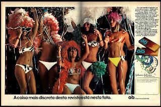 propaganda absorvente OB. - 1977.década de 70. os anos 70; propaganda na década de 70; Brazil in the 70s, história anos 70; Oswaldo Hernandez;