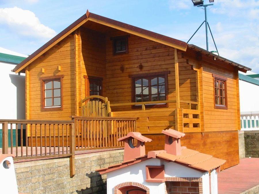 Casas de madera baratas bungalow de madera n rdica modelo - Casas de madera nordicas ...