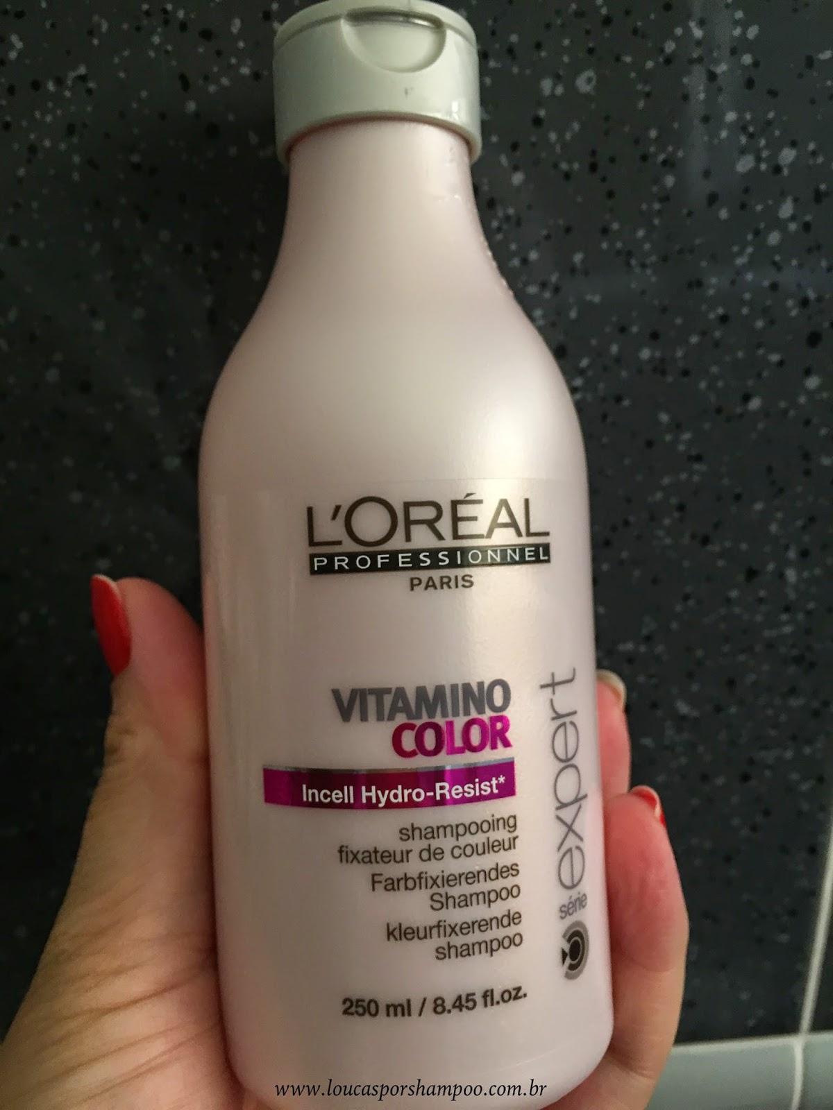 Loucasporshampoo Shampoo Vitamino Color Loreal Professionnel
