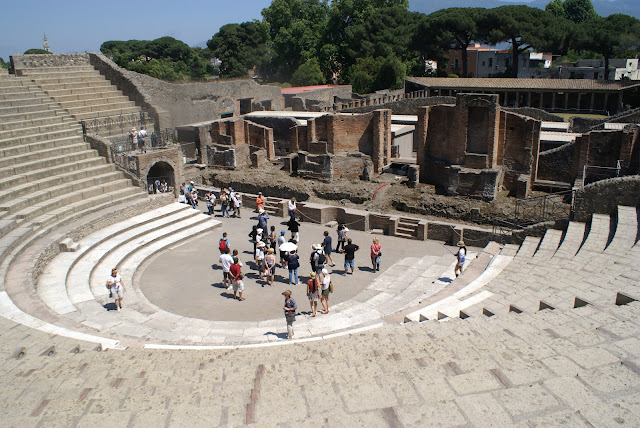 Pompeii Italy ruins