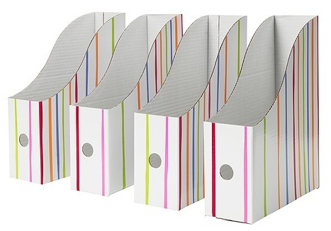 I'm going to use them as book boxes for my friends. They can store their  books for reader's workshop in them. I'm going to put their names on the  front and ...