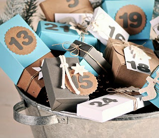 cómo hacer calendarios de adviento, tutorial calendario de adviento, calendarios de adviento originales, selfpackaging, self packaging, selfpacking