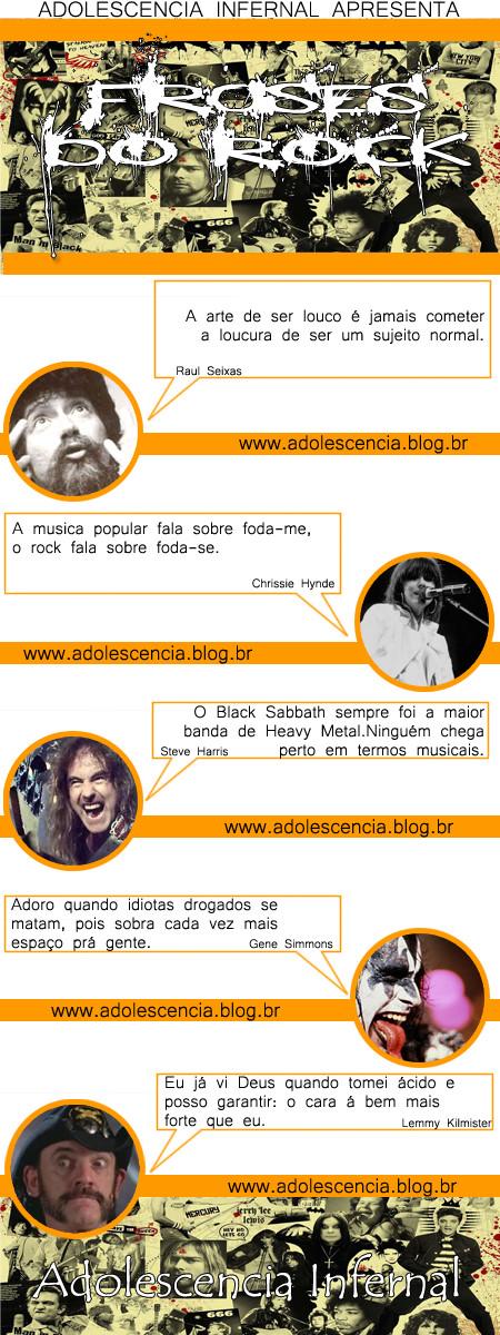 Frases do rock
