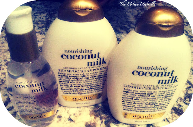 Organix Coconut Hair Care Line Review