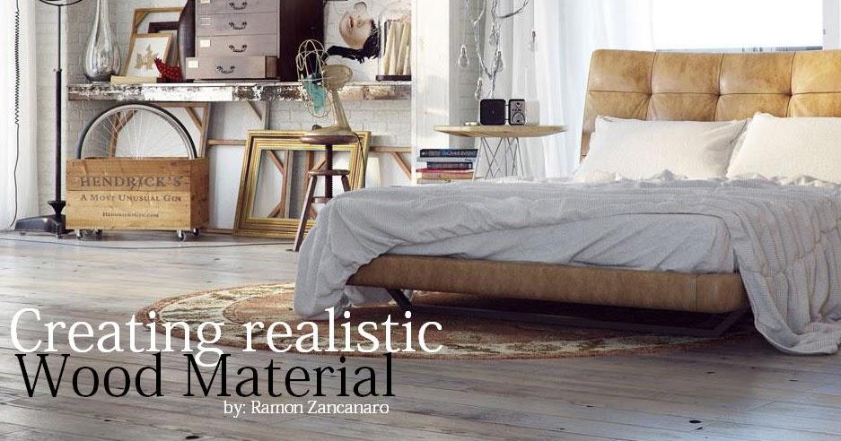 Creating Realistic Wood Material Part2 3 Cg Tutorials
