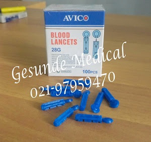 BLOOD LANCETS AVICO satu