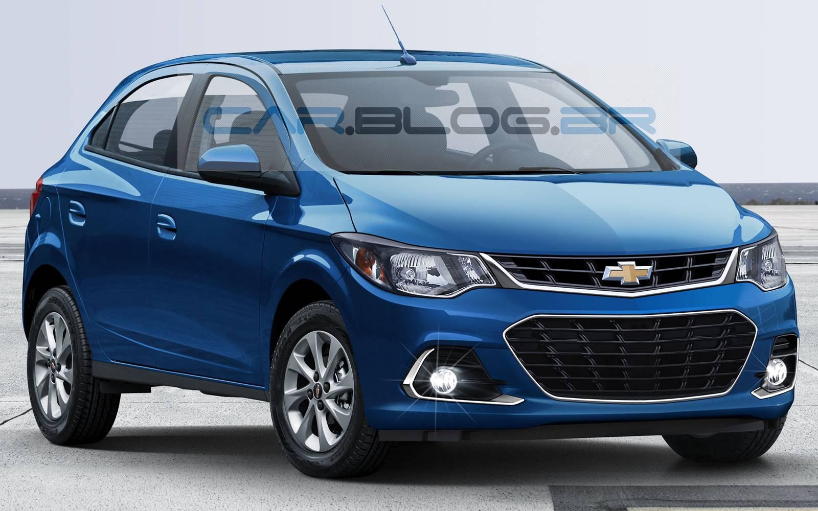Chevrolet Onix - carro mais vendido do Brasil em 2015