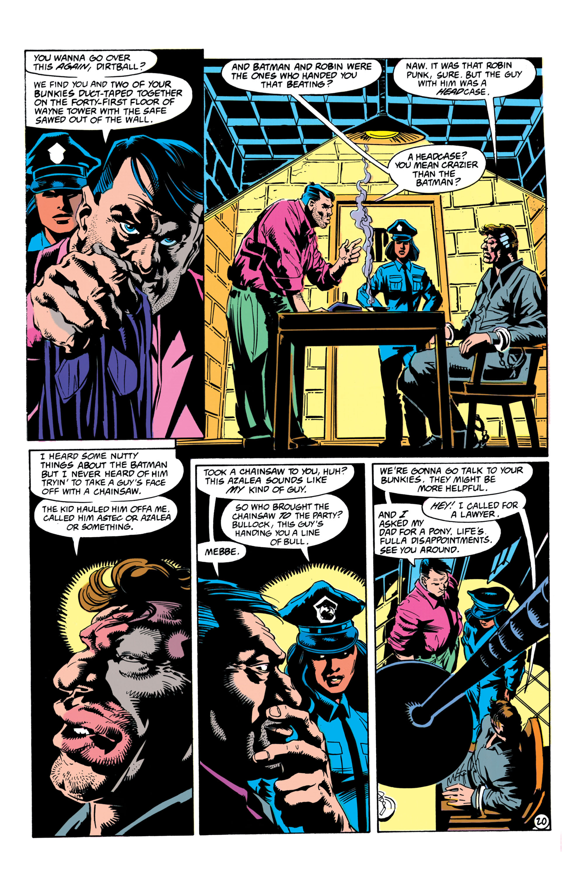 Detective Comics (1937) Issue #657 Page 20