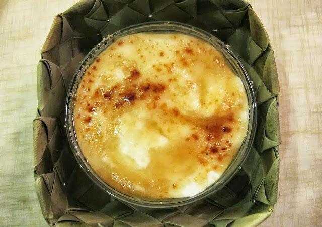 Pepita's Kitchen Hayop na Degustacion guinataan brulee
