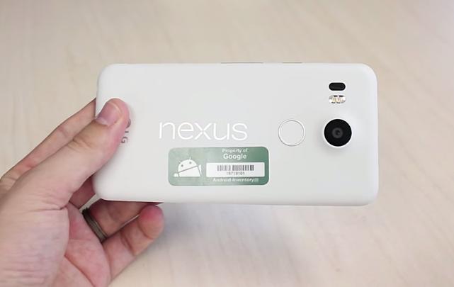 LG Nexus 5X White