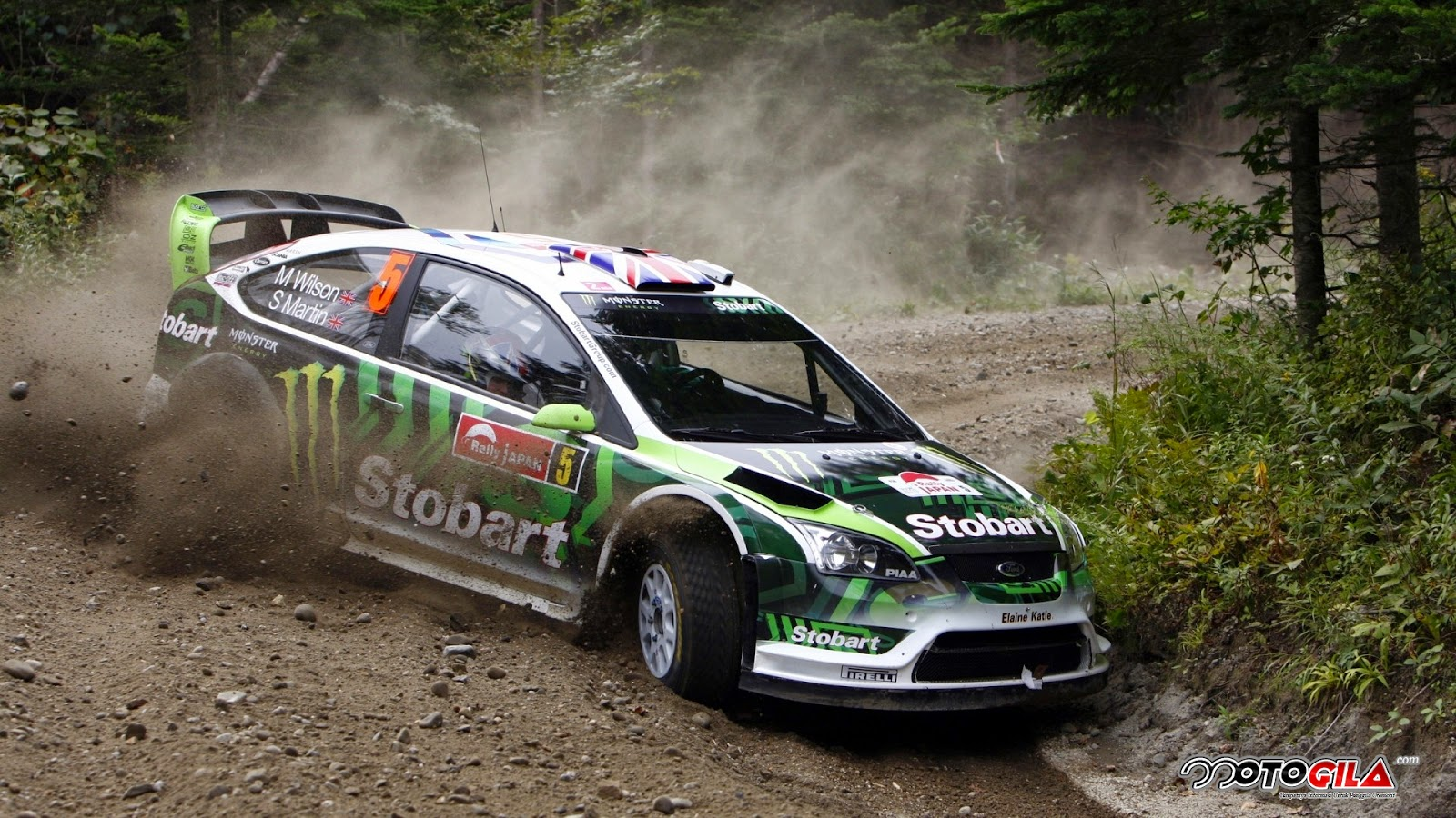 mobil balap ford rally