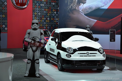 Fiat 500 Star Wars Show Car