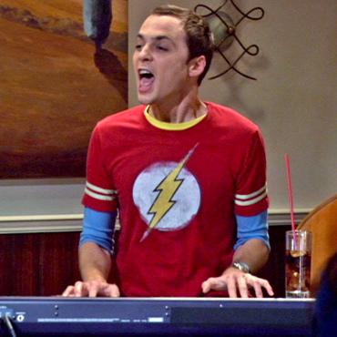 Sheldon camiseta The Flash