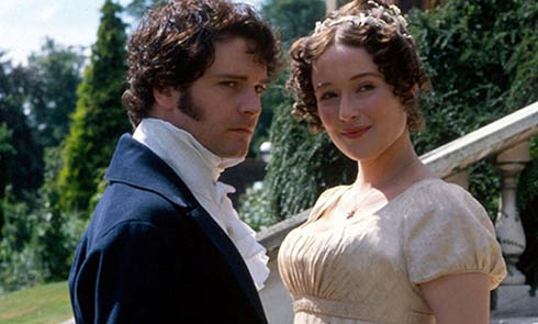 Still of Colin Firth and Jennifer Ehle in Pride and Prejudice (1995)
