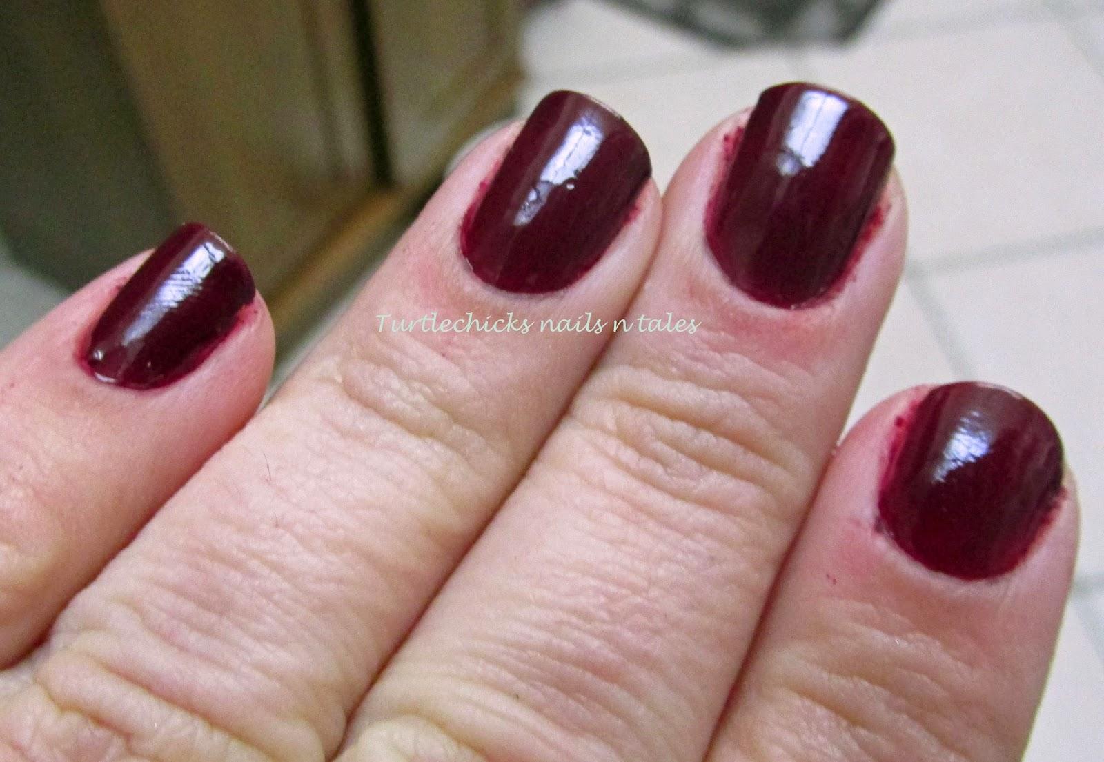 Turtlechick\'s Nails N Tales: LA Colors Vampy Valentine