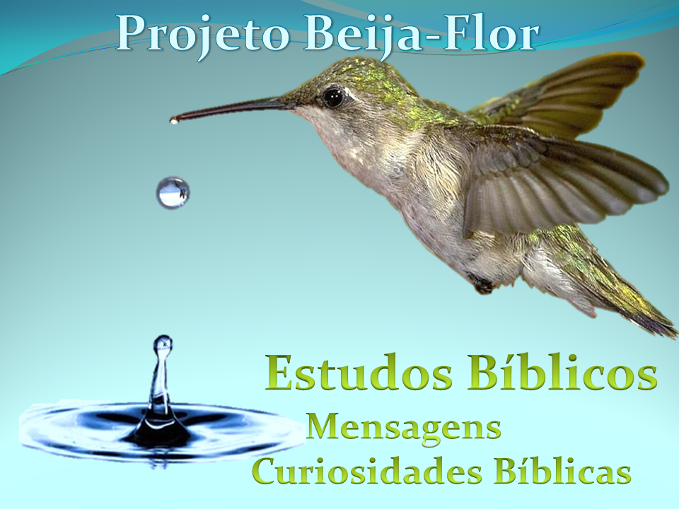 EstudosBíblicos, Mensagens e Curiosidades Bíblicas