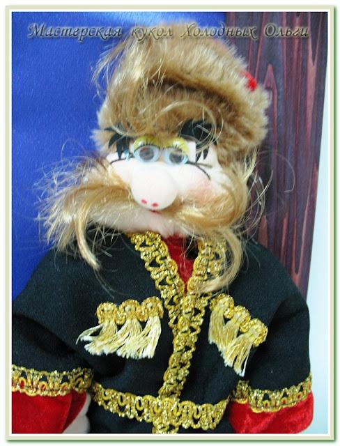 Авторская кукла Кубанские казаки