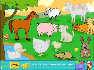 Animales de la granja Primera Escuela - imagenes de granjas de animales