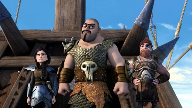 Hình ảnh phim Bí Kíp Luyện Rồng: Hướng Tới Trạm Rồng