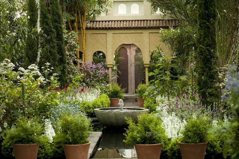 Islam espa a la exuberancia de los jardines de la for Jardines alhambra