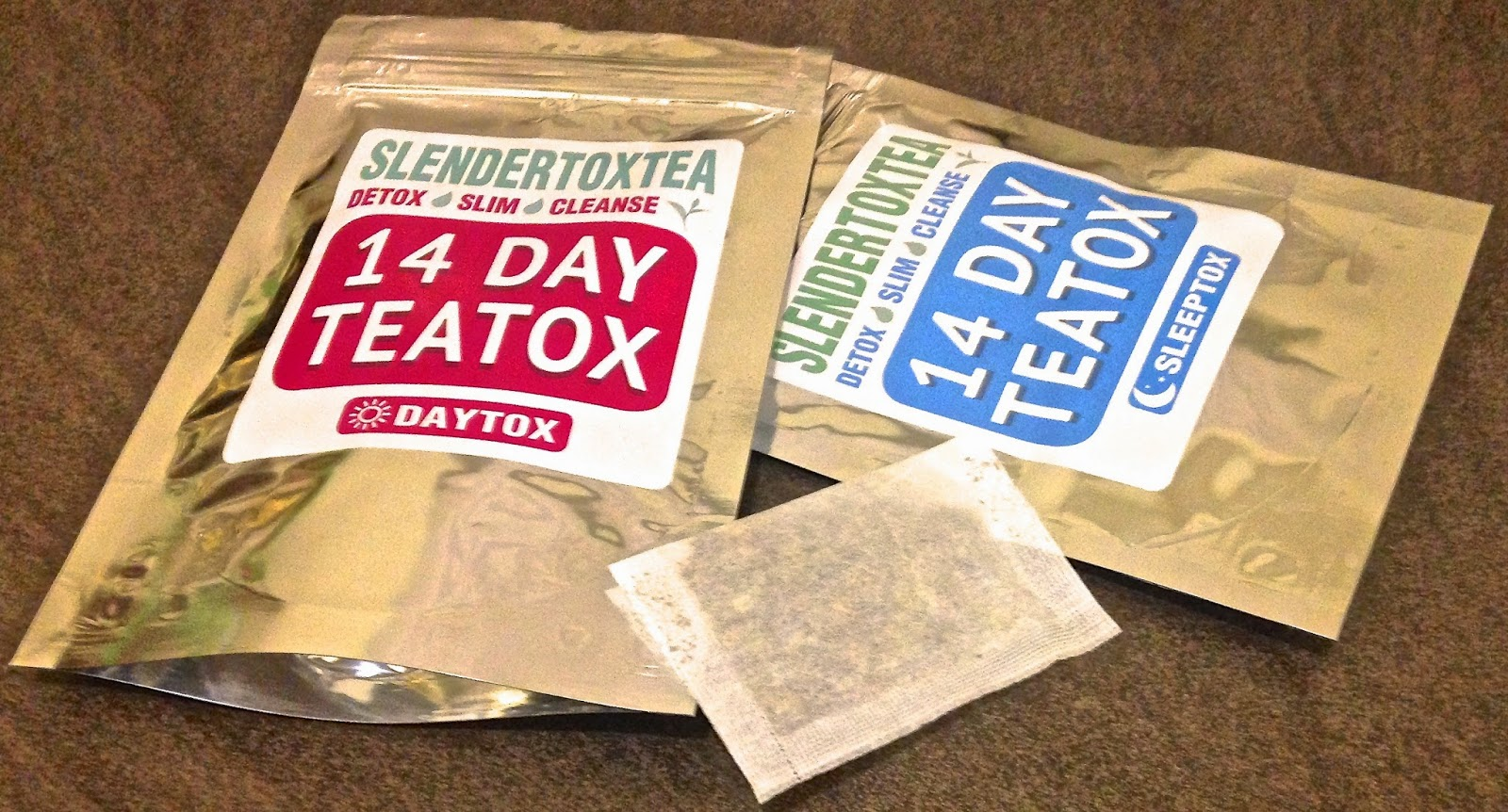 Slendertoxtea Review, 14 day teatox review, daytox, sleeptox