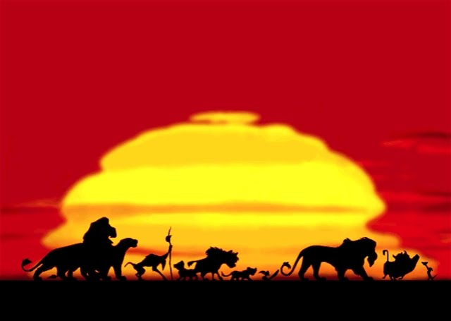 What is the name of the girl lion in 'The Lion King'?