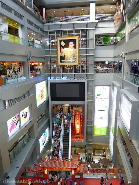 The interior of Mahboonkrong