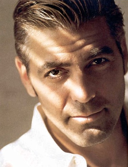 Derek Jeter Mens Hairstyles George Clooney Cool Short Hairstyle