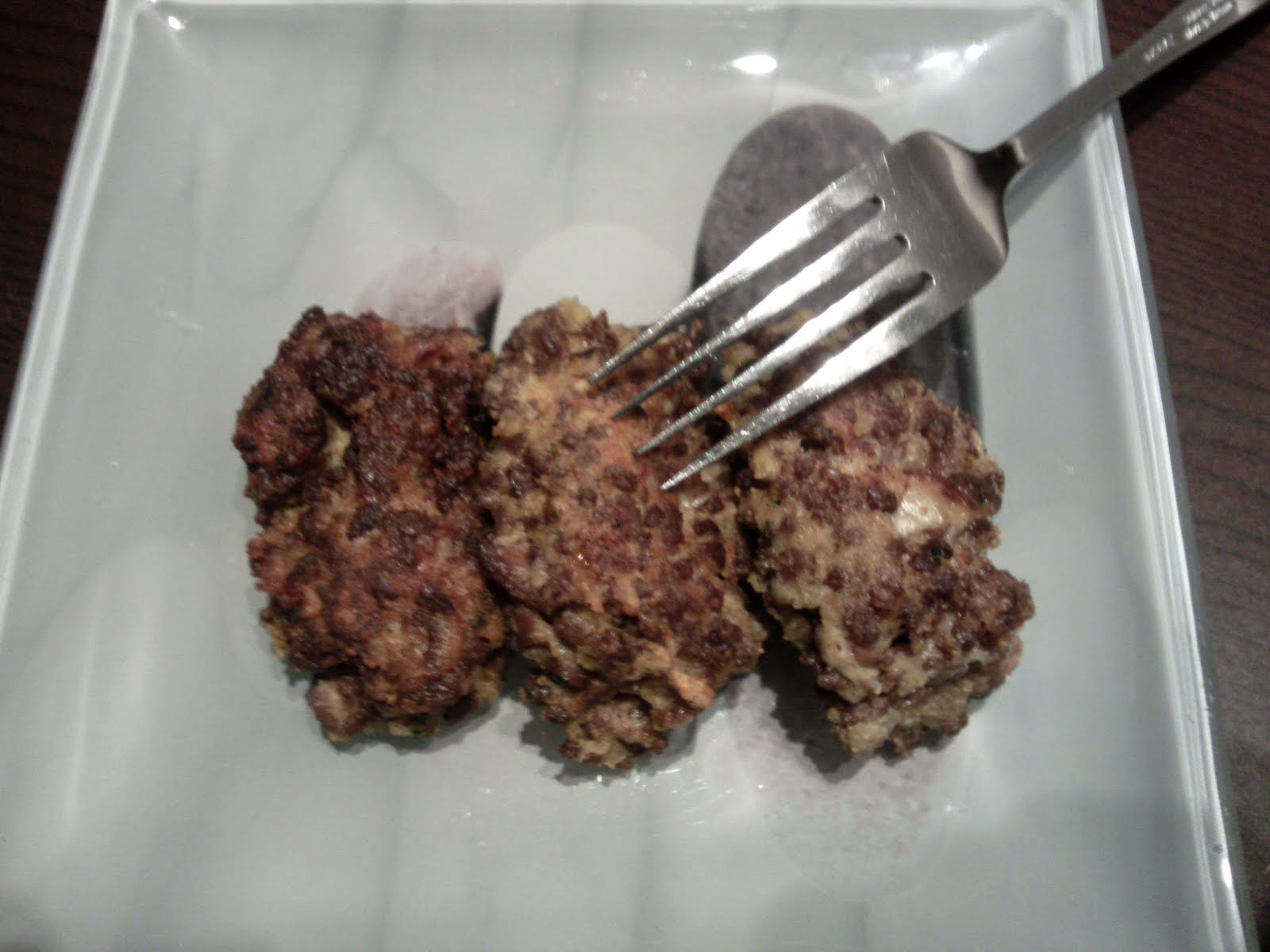 Ma cuisine mes origines boulettes de viande aux boeuf - Boulette de boeuf maison ...
