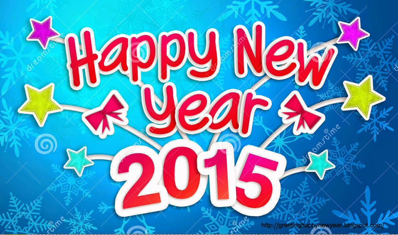 Latest Beautiful Happy New Year Cards 2015