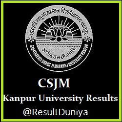 CSJM Kanpur University MA MSc MCom 1st Year Result 2015