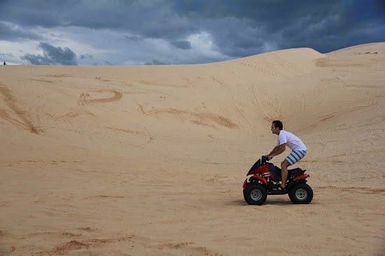 The White Sand Dune - The top attraction at Mui Ne2