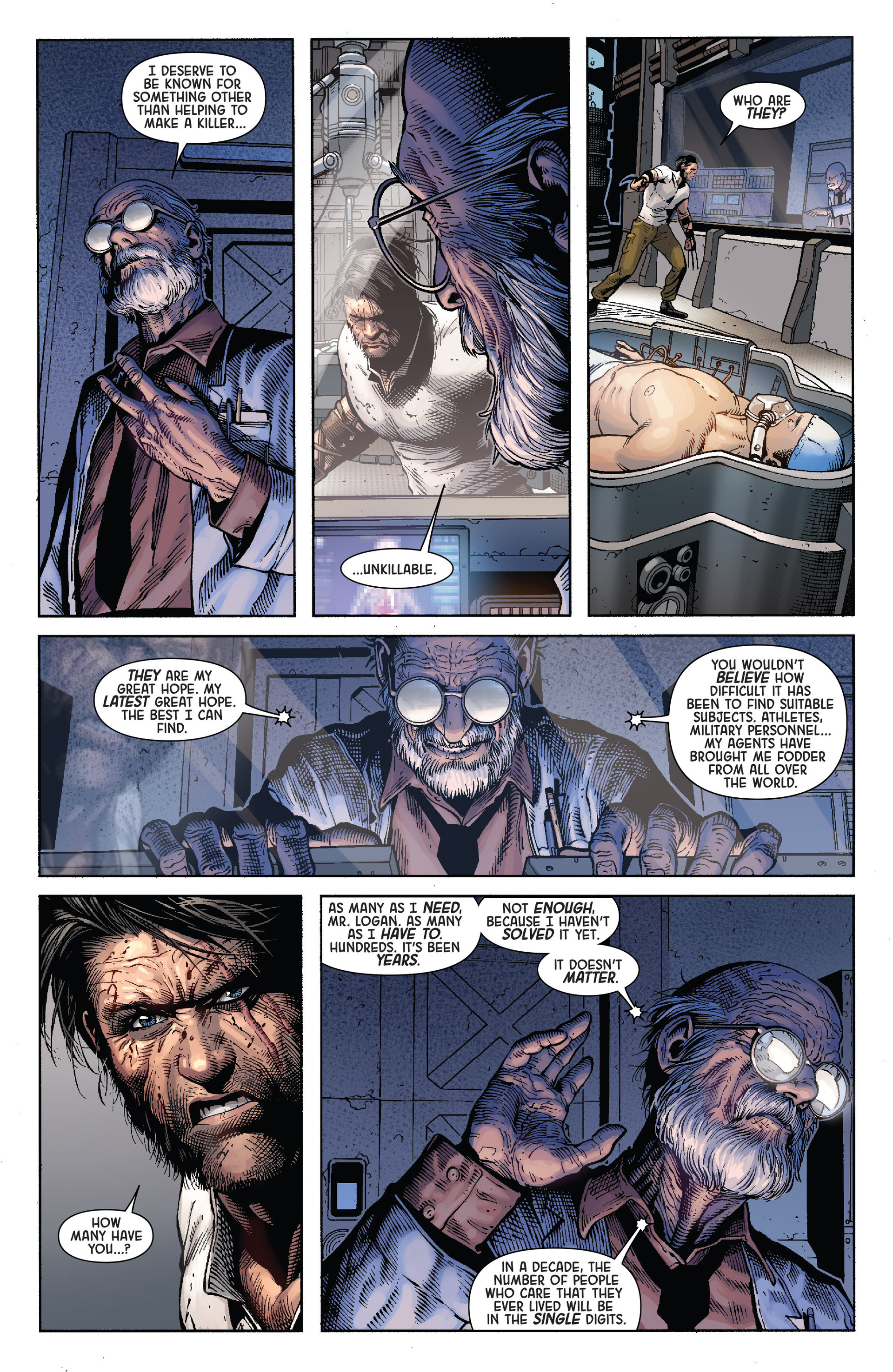 Death of Wolverine Issue #4 #4 - English 8