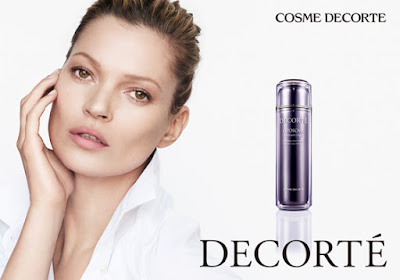 Cosme Decorte and Kate Moss