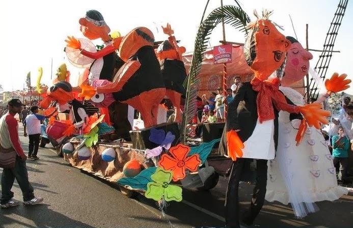 goa carnival celebration