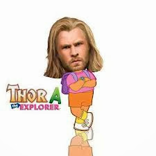 Chistes Thor: Thora la Exploradora
